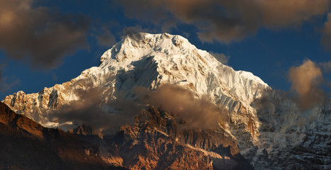 Wall Mural - Mount Annapurna in Nepal