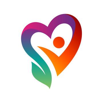 happy and healthy life logo design