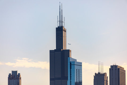 Towers in Chicago