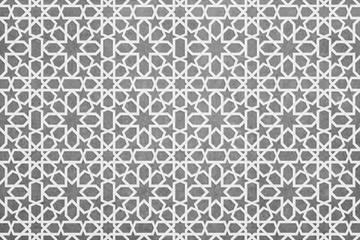 oriental pattern bnackgorund, geometric morocco design