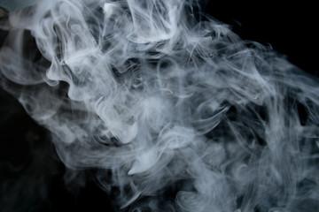 お料理用の湯気または煙の素材(フォトショップのスクリーン機能で料理写真と合成可能)