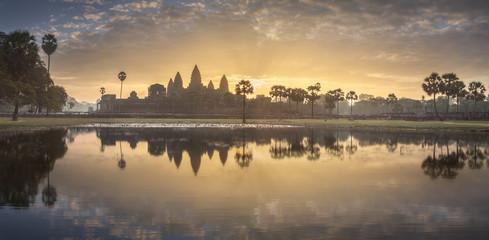 Temple complex Angkor Wat Siem Reap, Cambodia Fototapete