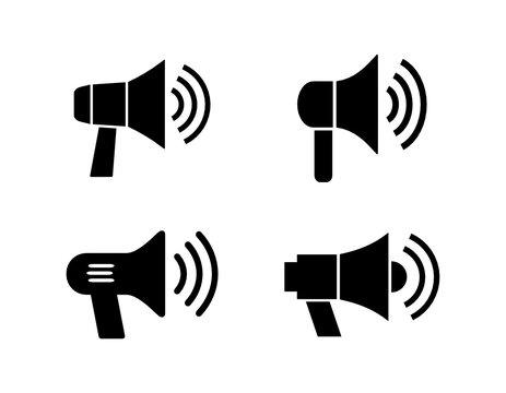 megafon zestaw ikon