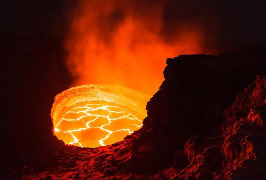 Volcano Crater Rim