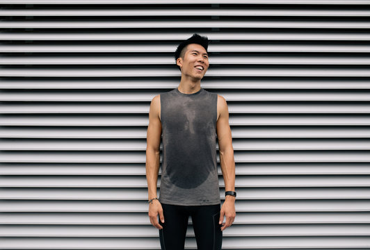 Portrait of Asian Athlete