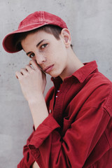 Teen portrait.
