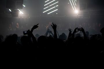 Crowd in a Night club