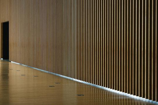 wood wall indoor