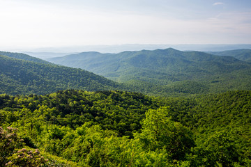 Blue Ridge Mountain Overlook