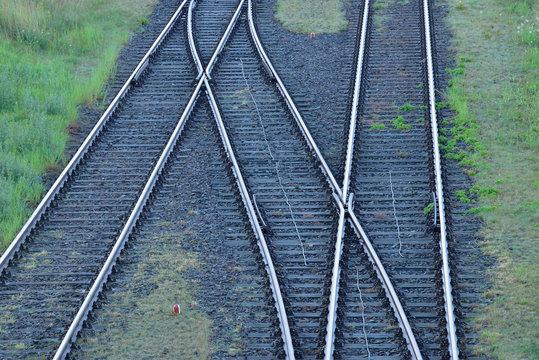 Germany, railway tracks