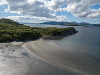 Luftbilder von Isle of Skye Schottland