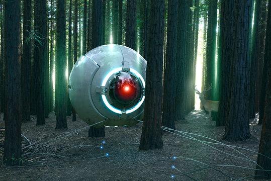 alien scout probe