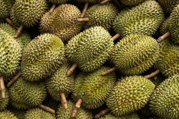 The durian fruit, with Thailand's reputation with intense aromas.