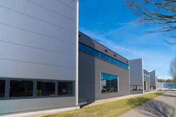 industrial warehouse exterior