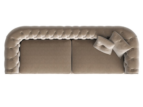 Sofa top view