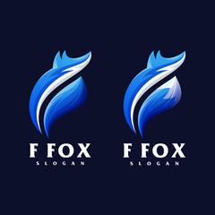f fox logo set