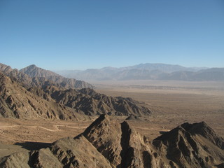 View point from Fiambala Hot springs, Catamarca Argentina