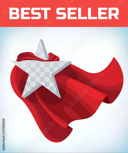 Star concept  Star in cape  Super cloak  Super star  Power