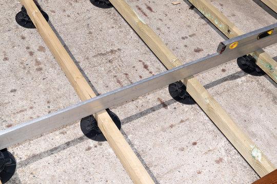Constructing terracing wood terrace wooden patio