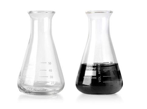 Flask empty isolated