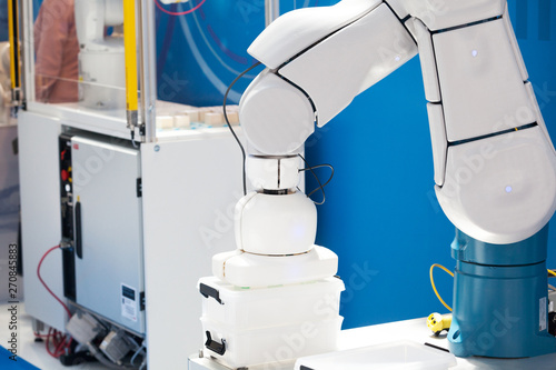 Industrial pick and place robot arm