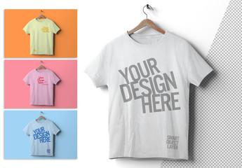 Isolated T-Shirt Mockup