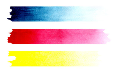abstract background with three colored stripes