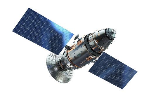 Satellite dish with antenna