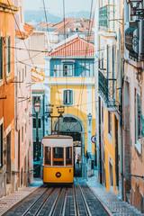 Elevador da Bica, Lisbon, Portugal, Europe