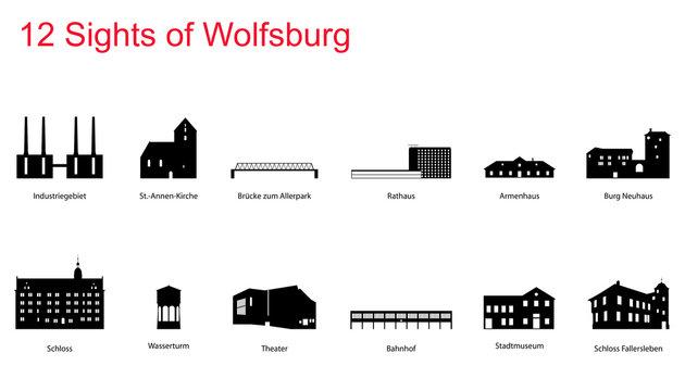 12 Sights of Wolfsburg