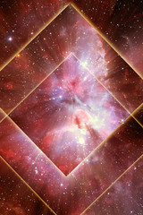 Wall Mural - abstrcat, mystical, mystic, space, universe, magic background with stars