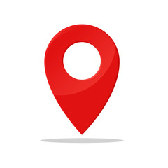 Pin symbol Indicates the location of the GPS map.