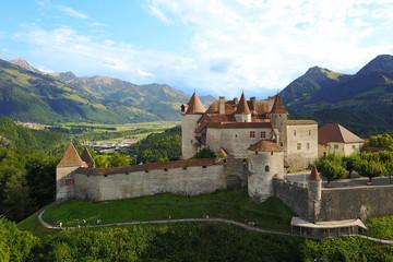Chateau de Gruyere, Switzerland