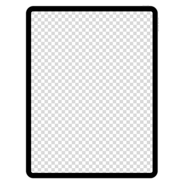 drawing pad for illustrators on white background