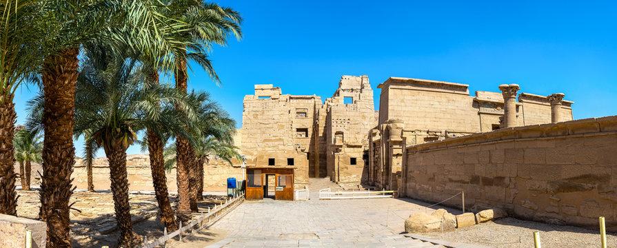 Medinet Habu Temple