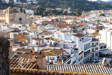 White Mediterranean Buildings - Tossa de Mar, Spain