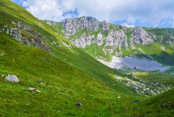 Amazing mountains landscape