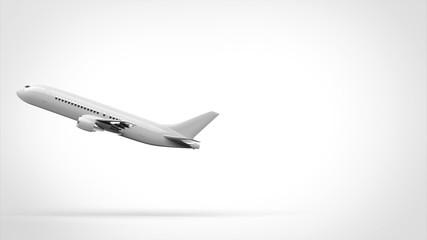 飛行機 離陸 側面 左