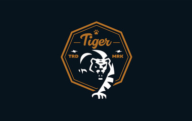 The image of a tiger