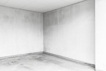 Empty room in the basement Fotomurales
