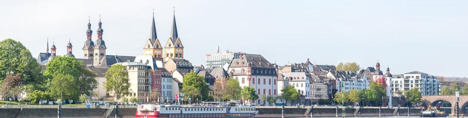 Koblenz Panorama Rhineland Palatinate Germany