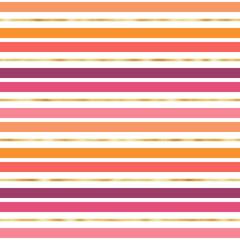 Motif sans couture à rayures horizontales - Motifs répétitifs à rayures horizontales simples et audacieuses