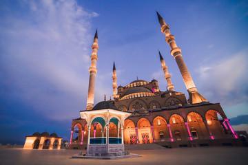 turkey maras mosque and muslim house