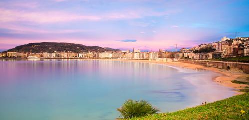 San Sebastián Sunset Landscape - San Sebastián, Spain