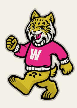 wildcats school athletic mascot