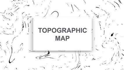 Topographic map contour background. Line map with elevation. Geographic World Topography map grid abstract