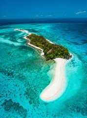 Truly amazing island of Cresta de Gallo, Philippines