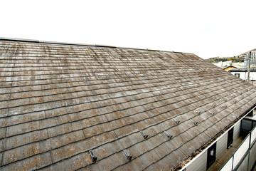 汚れた屋根 Fototapete