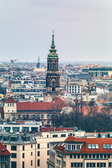 impressions of Berlin on a hazy day