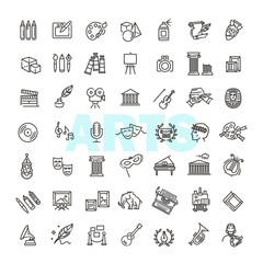 line art icon - Vector